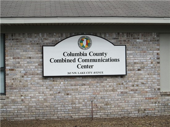Columbia County Combined Communications Center.